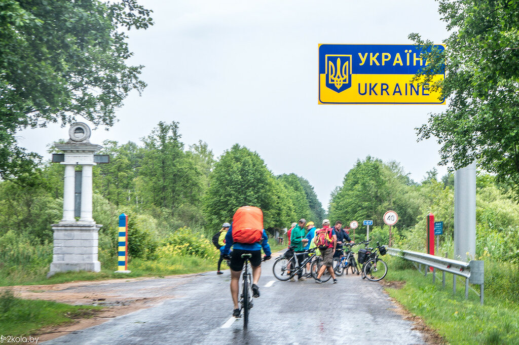 Граница Украны и Беларуси